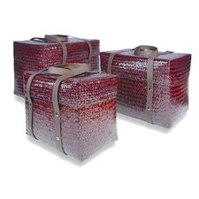 Kulit Square Basket (Set of 3)