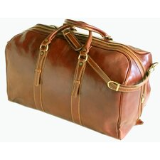 "Venezia 22"" Grande Leather Travel Duffel"