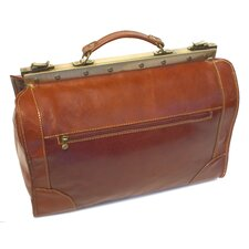 "Positano 18"" Leather Travel Duffel"