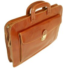 Milano Leather Sleeve Briefcase