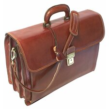 Firenze Briefcase in Brown