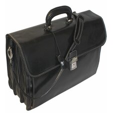 Firenze Briefcase in Black