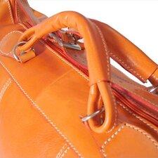 "Piana 18"" Leather Travel Duffel"