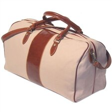 "<strong>Floto Imports</strong> Venezia 21"" Leather Travel Duffel"