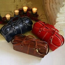 Venezia Leather Mini Duffle Handbag