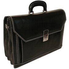Venezia Attache Case Leather Briefcase