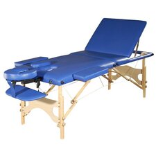 <strong>Sivan Health and Fitness</strong> 3 Fold Reiki Portable Massage Table and Carrying Case