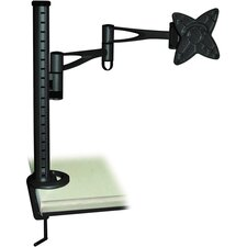 LCD Monitor Table Stand with Arm and Desk Clamp