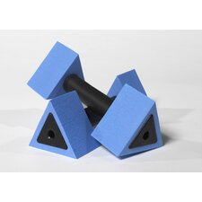 Triangular Aquatic Dumbbells