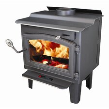<strong>Vogelzang</strong> Defender 1,200 Square Foot Wood Stove with Blower and Ash Drawer
