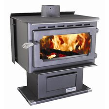 Mountaineer 2,000 Square Foot Wood Stove with Blower