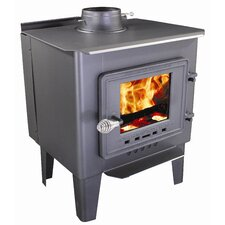 <strong>Vogelzang</strong> Frontiersman 1,000 Square Foot Wood Stove with Blower
