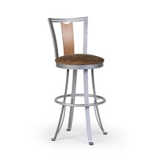 "<strong>Createch</strong> Zola 30"" Swivel Bar Stool with Cushion"