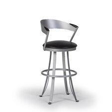 "Kro 24"" Swivel Bar Stool with Cushion"
