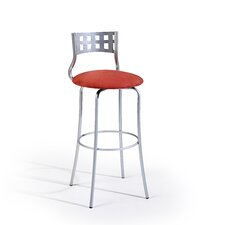 "<strong>Createch</strong> Sax 30"" Swivel Bar Stool with Cushion"