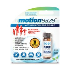 All Natural Motion Sickness Relief