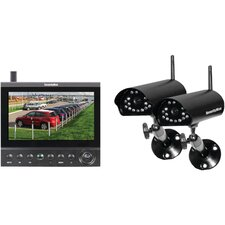 Digital Wireless Cameras LCD/DVR System