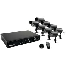 <strong>Security Man</strong> Network DVR System with 8 Cameras