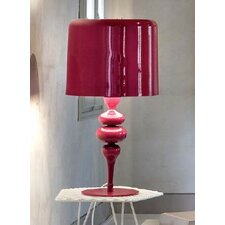 "Eva 29.6"" H Table Lamp with Drum Shade"