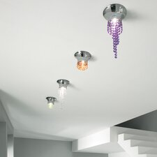Kioccia 1 Light Flush Mount