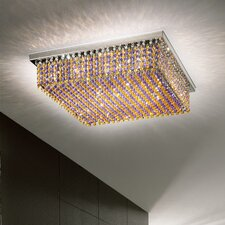 Aurea 6 Light Flush Mount