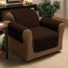 Plush Club Chair Cover