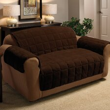 <strong>Innovative Textile Solutions</strong> Plush Loveseat Cover
