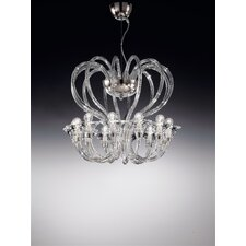 Babylon 12 Light Crystal Chandelier