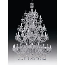 <strong>Cristalstrass Murano & Crystal</strong> Erika 60 Light Crystal Chandelier