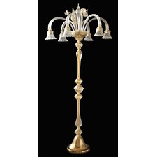 <strong>Cristalstrass Murano & Crystal</strong> Geremia 6 Light Floor Lamp