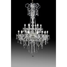 Hollywood 18 Light Crystal Chandelier