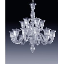 Laguna 18 Light Crystal Chandelier