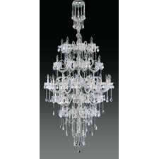 <strong>Cristalstrass Murano & Crystal</strong> Maya 51 Light Crystal Chandelier