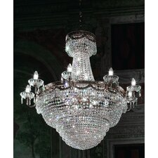 Pegaso Empire 19 Light Crystal Chandelier