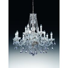 Serenade 12 Light Crystal Chandelier