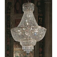Beethoven Empire 6 Light Crystal Chandelier