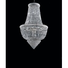 Osaka Empire 6 Light Crystal Chandelier
