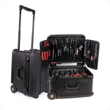 "R201 Extra Tough Rotationally Molded Wheeled Case: 10"" H x 17 3/4"" W x 15"" D"