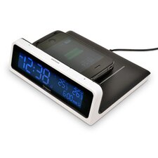 Wireless Charging Station with Alarm Clock
