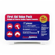 <strong>Ready America</strong> 77-Piece First Aid Value Pack