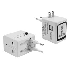 110V to 5V 2.1A Dual Charger with AC Outlet