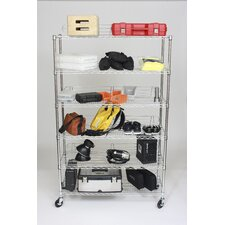 "NSF 77"" H 6 Shelf Shelving Unit Starter"