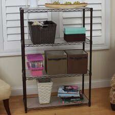 4-Tier NSF Indoor Wire Shelving Unit