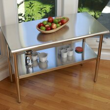 "<strong>Trinity</strong> EcoStorage™ 48"" Stainless Steel Table"