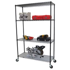 "77"" H 3 Shelf Shelving Unit Starter"