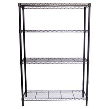 "NSF Indoor Wire 54"" H 4 Shelf Shelving Unit Starter"