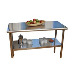 EcoStorage Stainless Steel Top Workbench