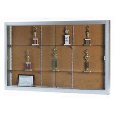 Universal Display Case with Sliding Doors