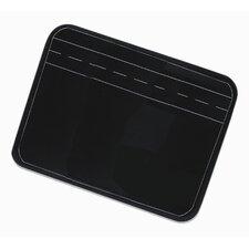 Personal Size Lined Black Chalkboard