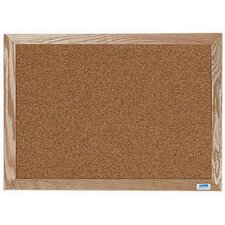Natural Pebble Grain Cork Bulletin Board